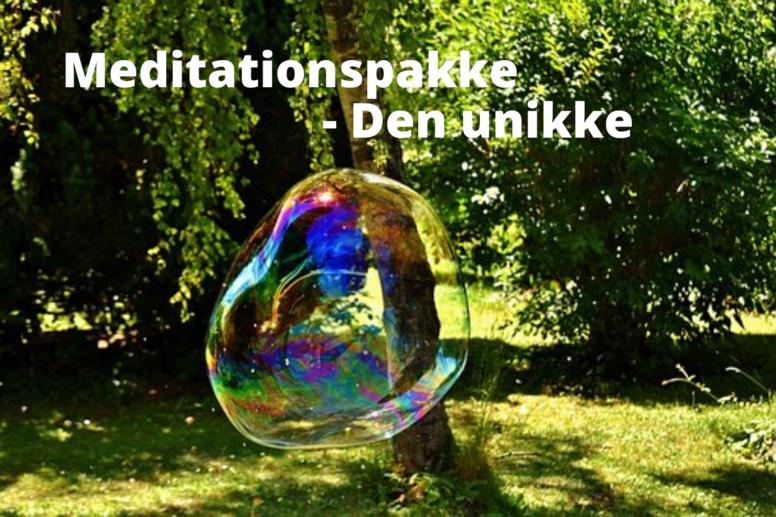 Meditationspakke - Den unikke