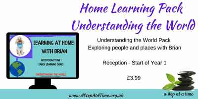 Adventures of Brian - Home Learning Pack - Understanding the World (Rec. Year 1)