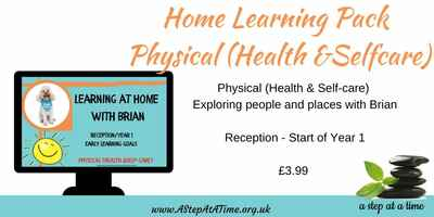 Adventures of Brian - Home Learning Pack - Physical (Health & Selfcare) (Rec. Year 1)
