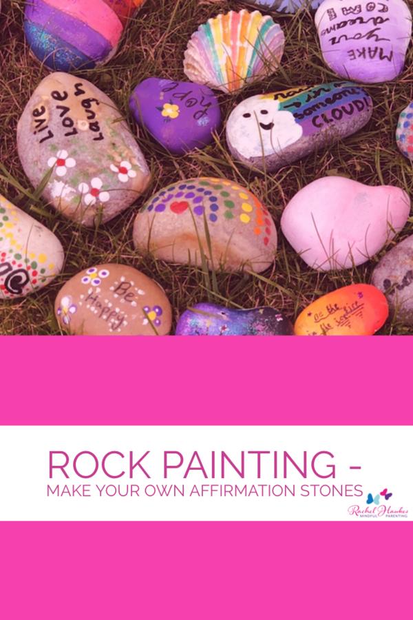 Affirmation Rock Creating