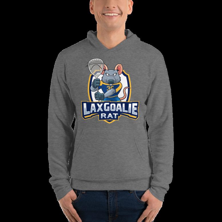 Lax Goalie Rat Hoodie - Shield Logo