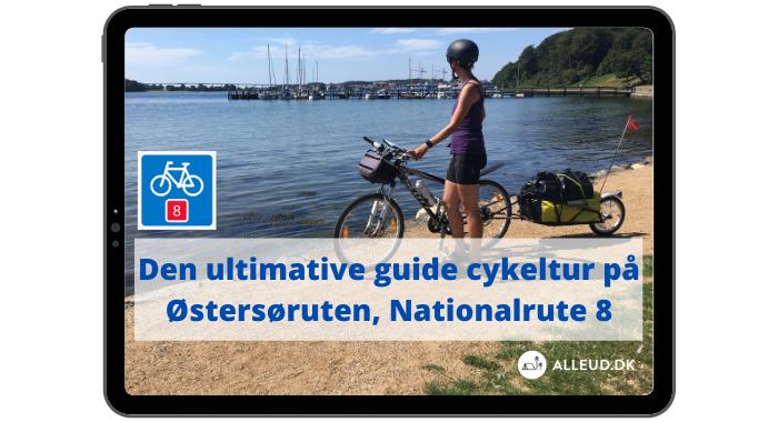 Cover  - Ebog - Østersøruten - Nationalrute 8 - Cykeltur.png