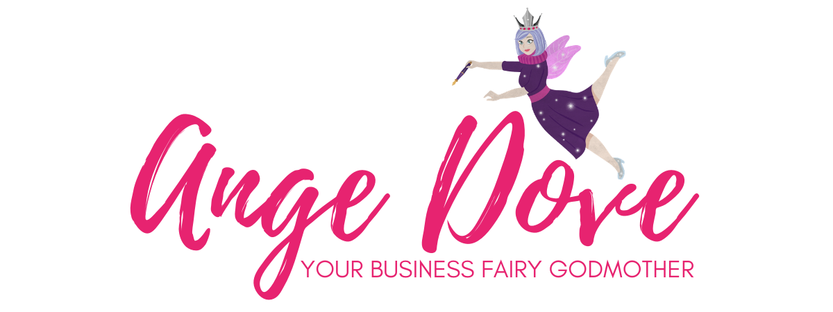 Ange Dove Logo flying