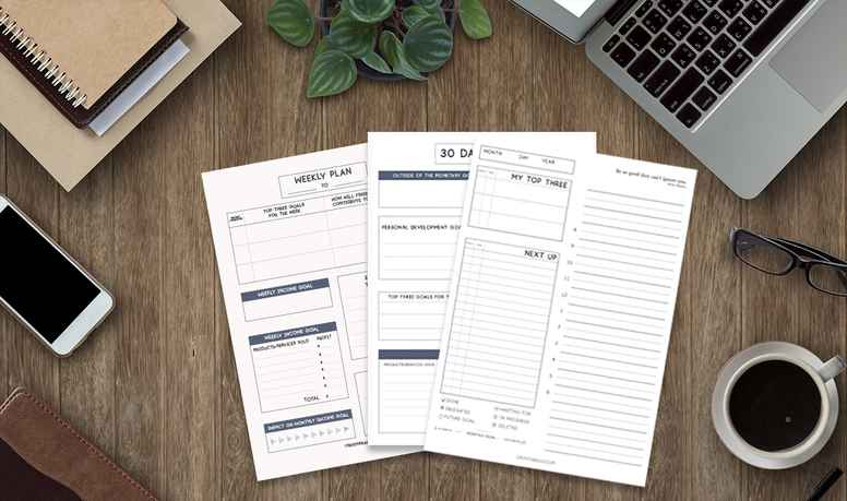 Create the Rules 90 Day Business Planner