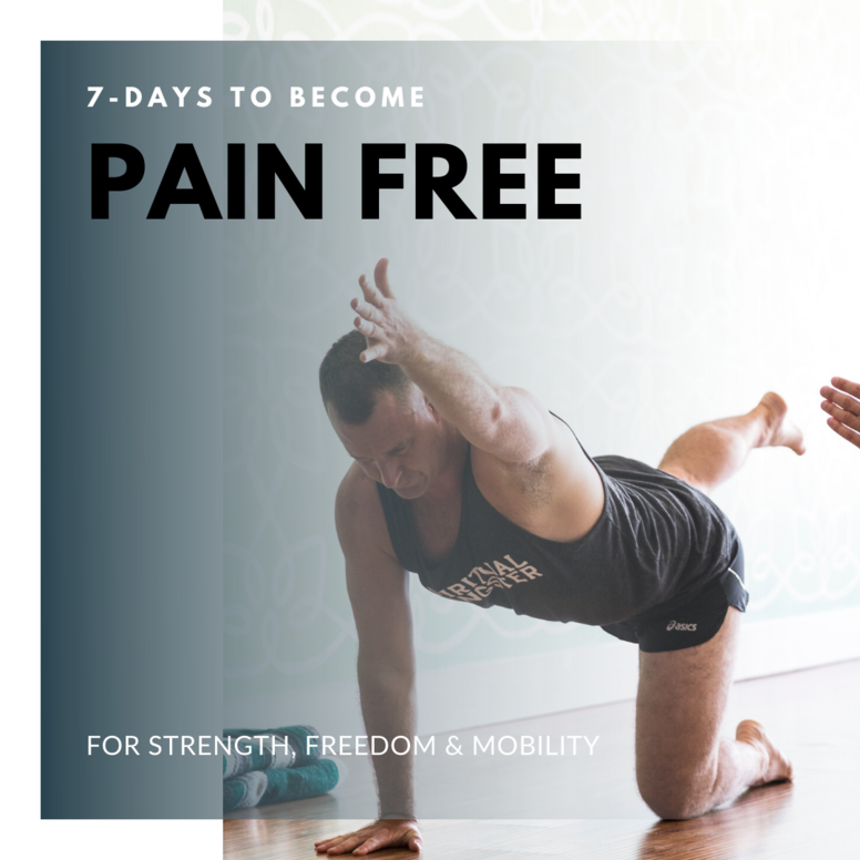 7-Days To Become Pain Free (In Your Back)