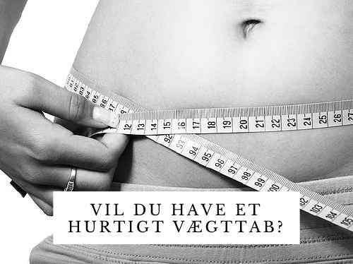 Vil du have et hurtigt vægttab? (billede)