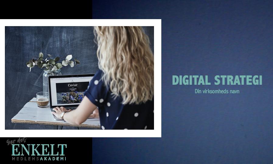 Digital Strategi Forside