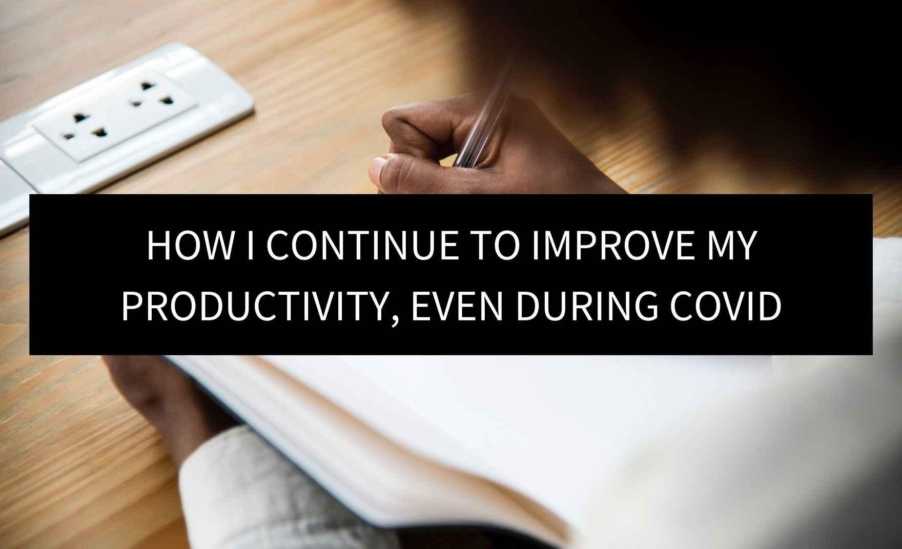 Productivity - Post