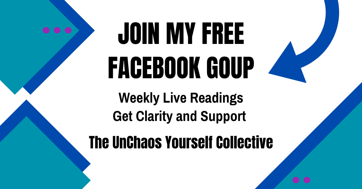 Website UnChaos Yourself Group Coaching