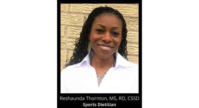 Reshaunda as your Nutrition Monitor