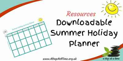 FREE DOWNLOAD - Summer Holiday Planner!