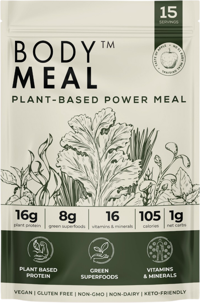 body meal packaging design front