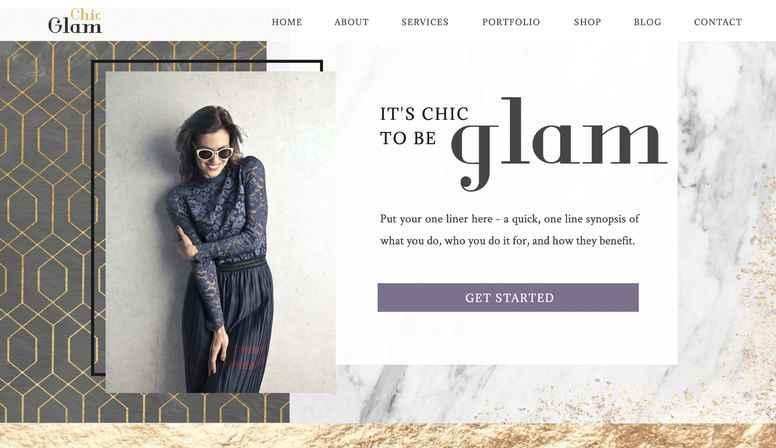 Glam Chic - Main Site
