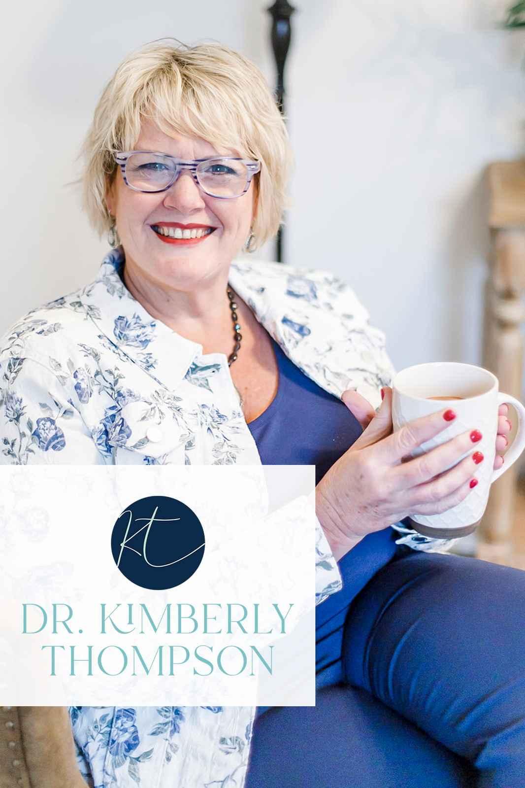 Dr Kimberly Thompson Website Headshot with Logo