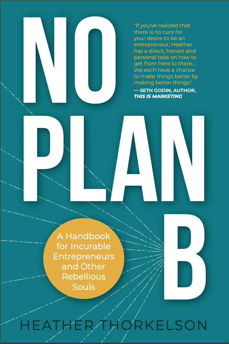 No Plan B FINAL cover with Seth quote