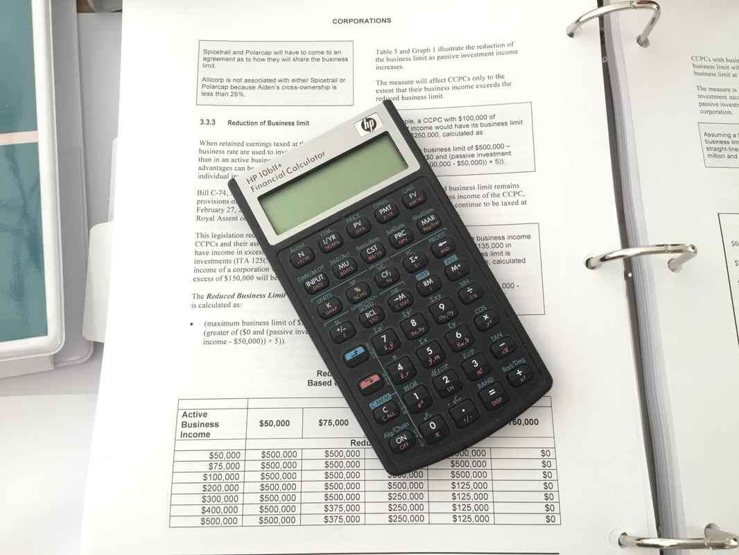 Financial Calculations for Financial Planner