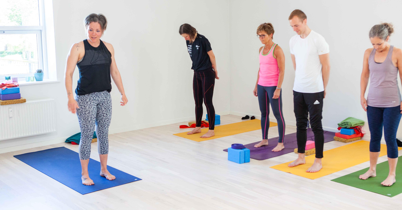 Eksamen for 7. sæson af yogauddannelsen
