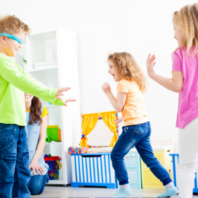 Children Playing at Home copy