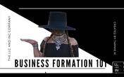 Business Formation 101 Playback