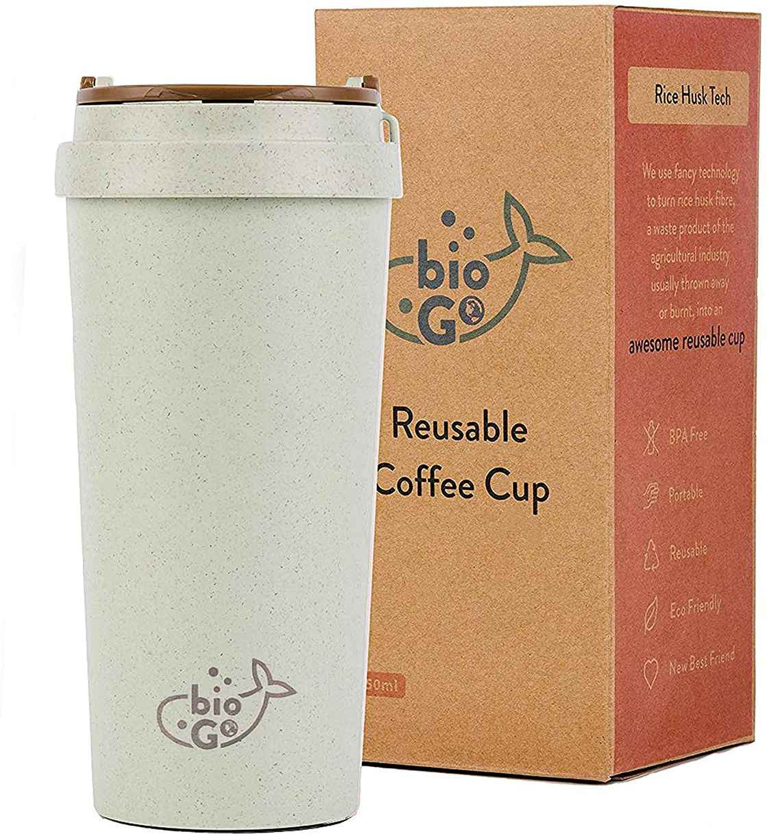 reuseable coffee cup