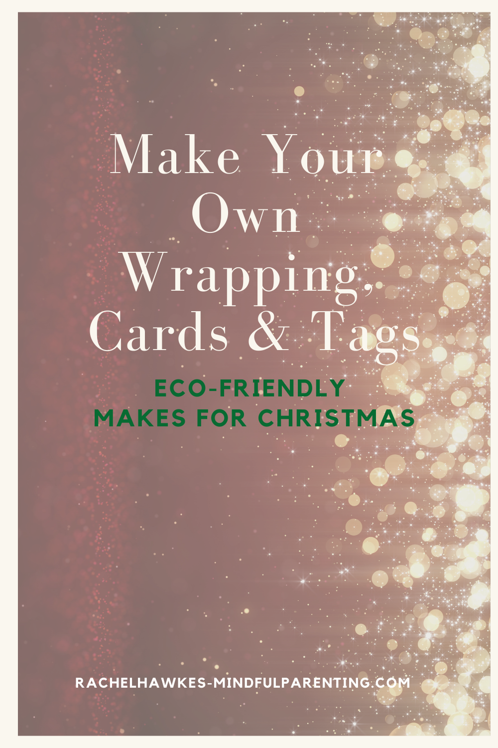 Eco friendly Xmas wrapping paper