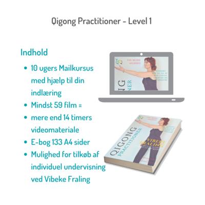 Qigong Practitioner Level 1 onlinekursus marts 2021