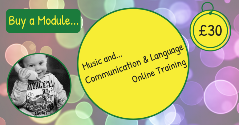 Buy a Module.. Music and... Communication and Language