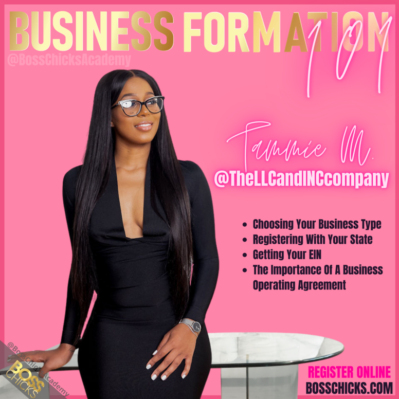 Business Formation 101
