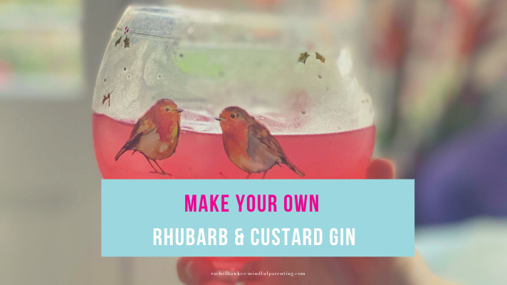 Rhubarb and custard gin blog cover