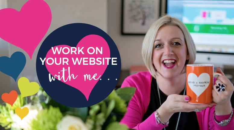 Work On Your Website With Me 121 Sessions