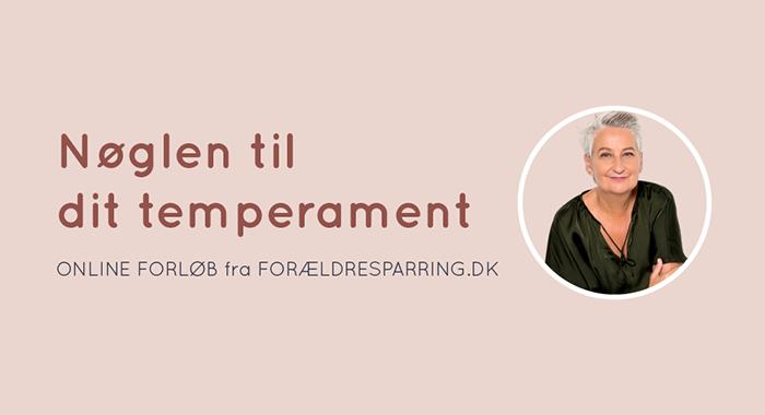 Nøglen til dit temperament - online