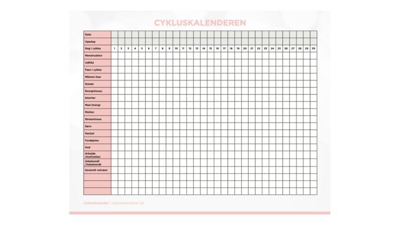 Cykluskalenderen
