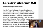 Ancestry Alchemy Communicating with Ancestors.mp4