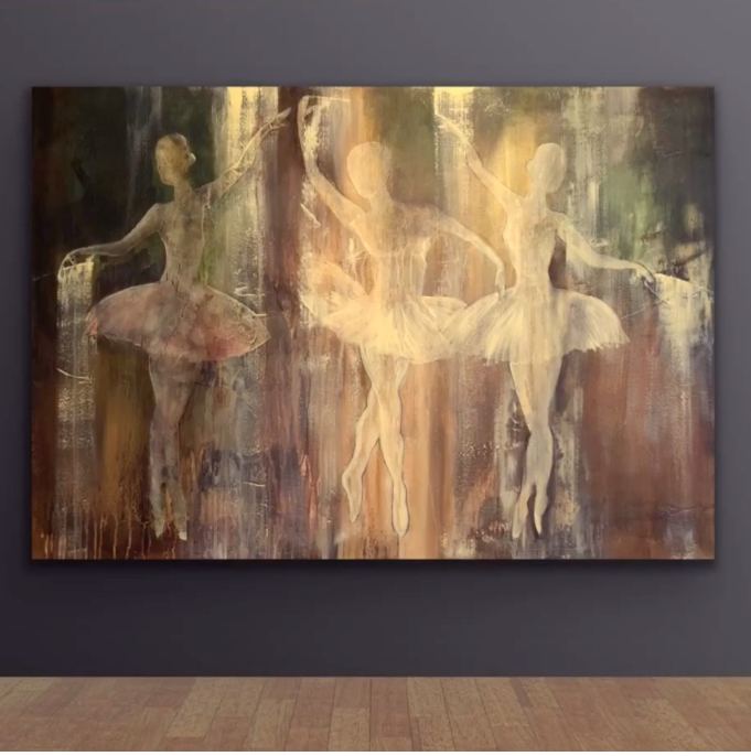 Mal et maleri fra A-Å - Ballerinaer i Lyset