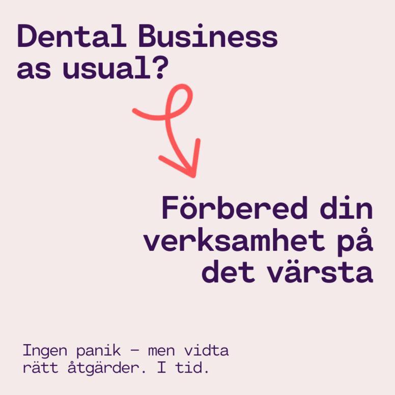 Privat tandvård under Covid