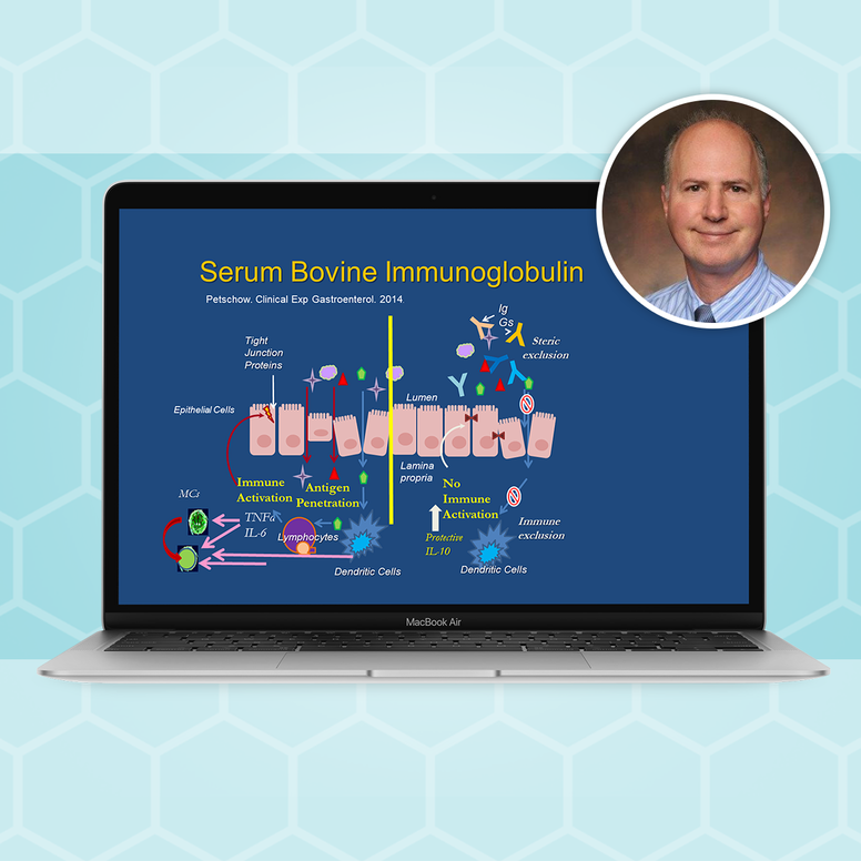 Serum Bovine Immunoglobulin (IgG) for SIBO Masterclass with Dr. Leonard Weinstock, MD