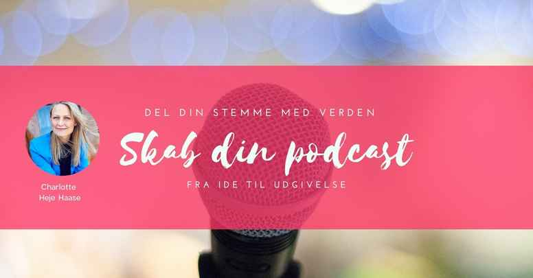 Skab din podcast - hold 9