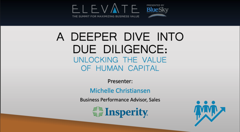 A Deeper Dive into Due Diligence
