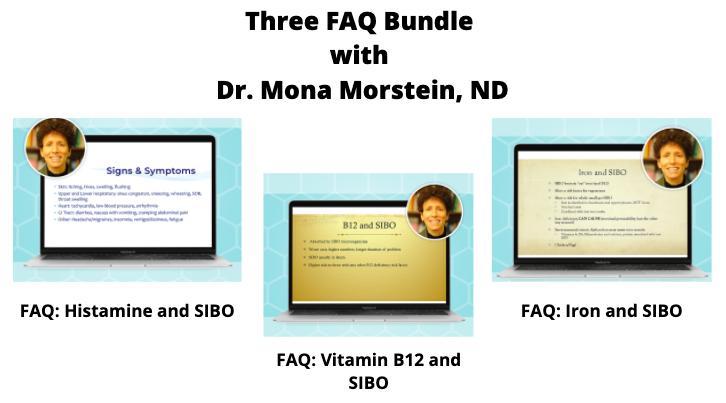 Three FAQ Bundle with Dr. Mona Morstein, ND