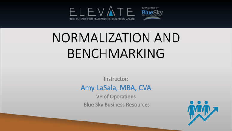 Normalization and Benchmarking