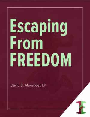 Escaping From Freedom ebook cover