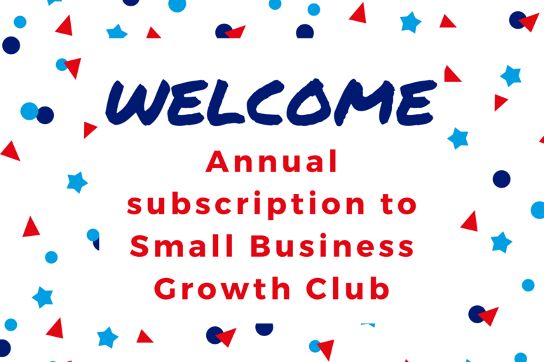 Small Business Growth Club Annual Subscription