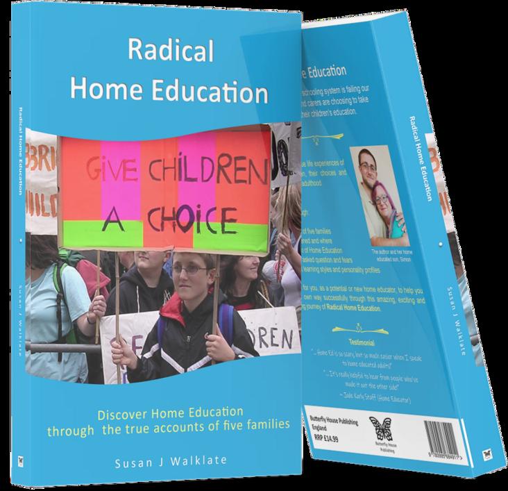 radical home eduction - smart mock up - 2 books