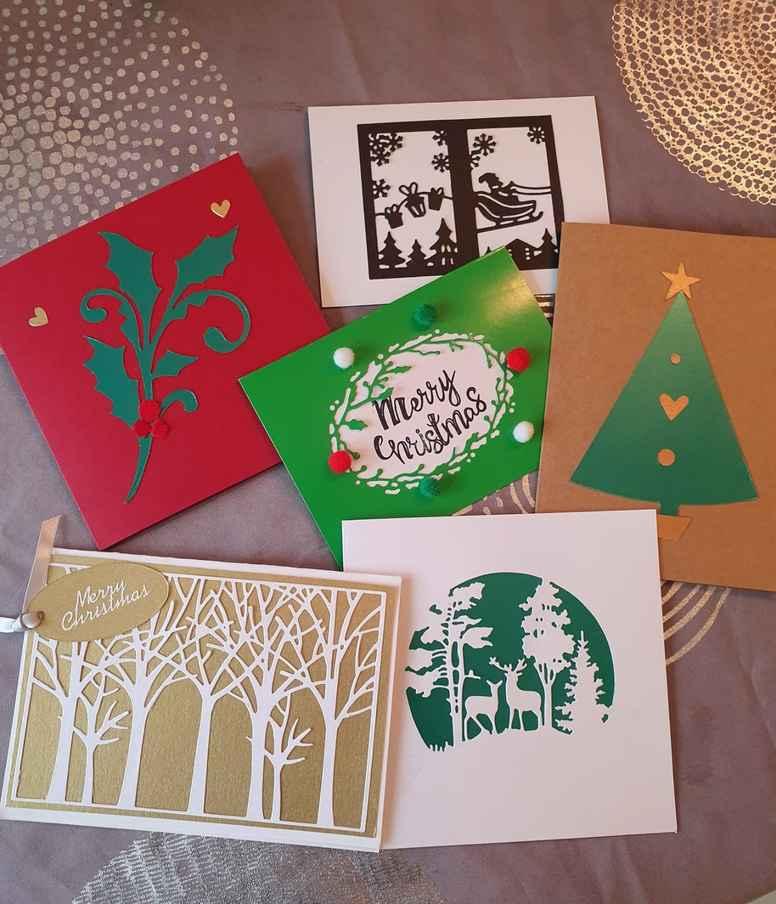 Christmas Card Craft Set