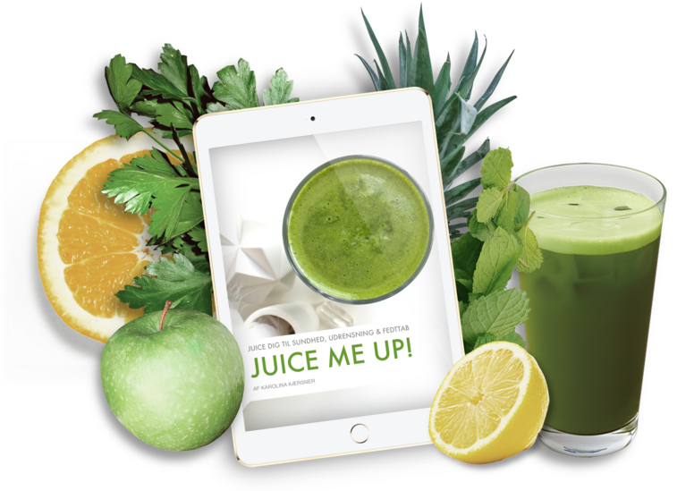 eBog: Grøn juice begynder-guide + 25 opskrifter