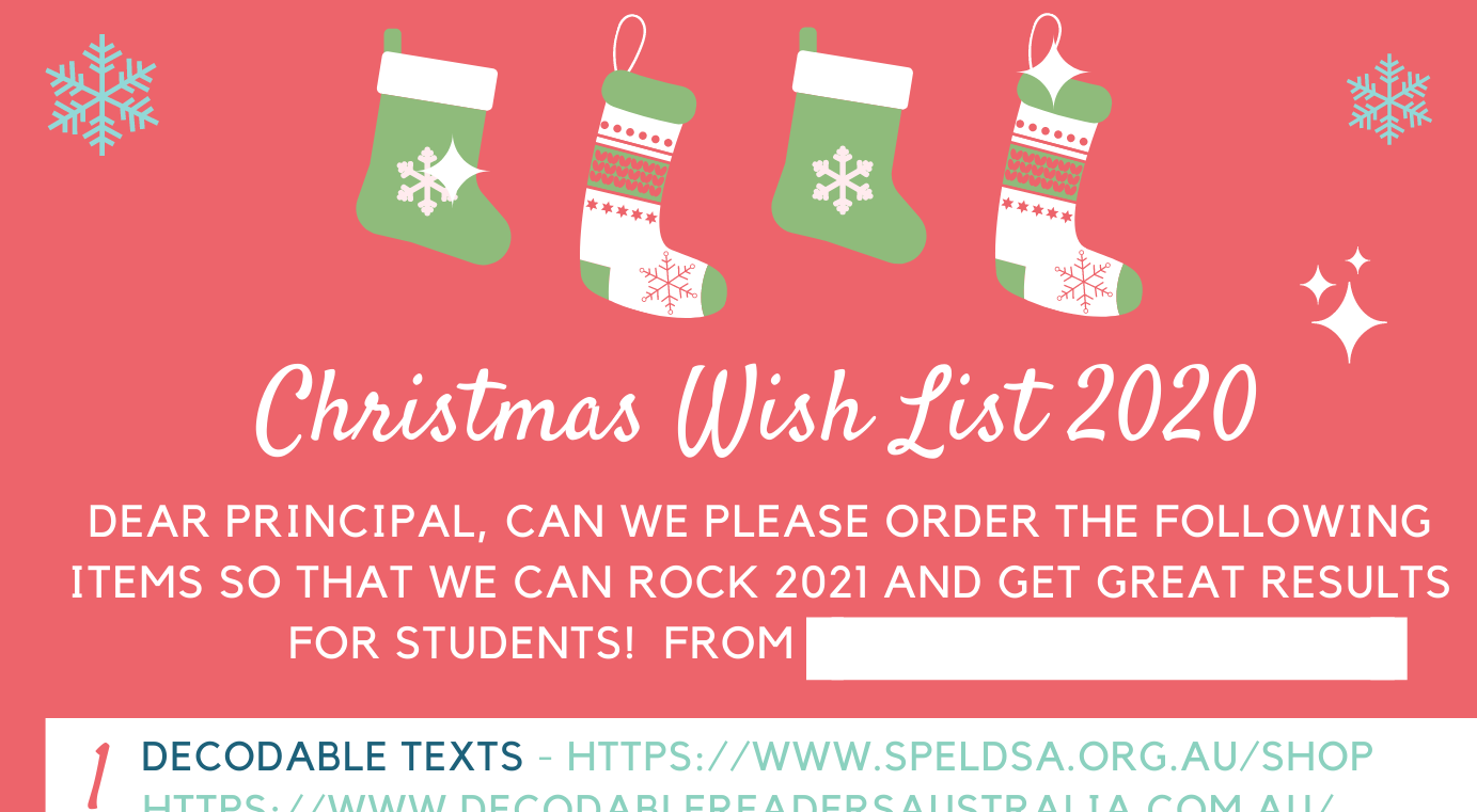 Cropped wish list