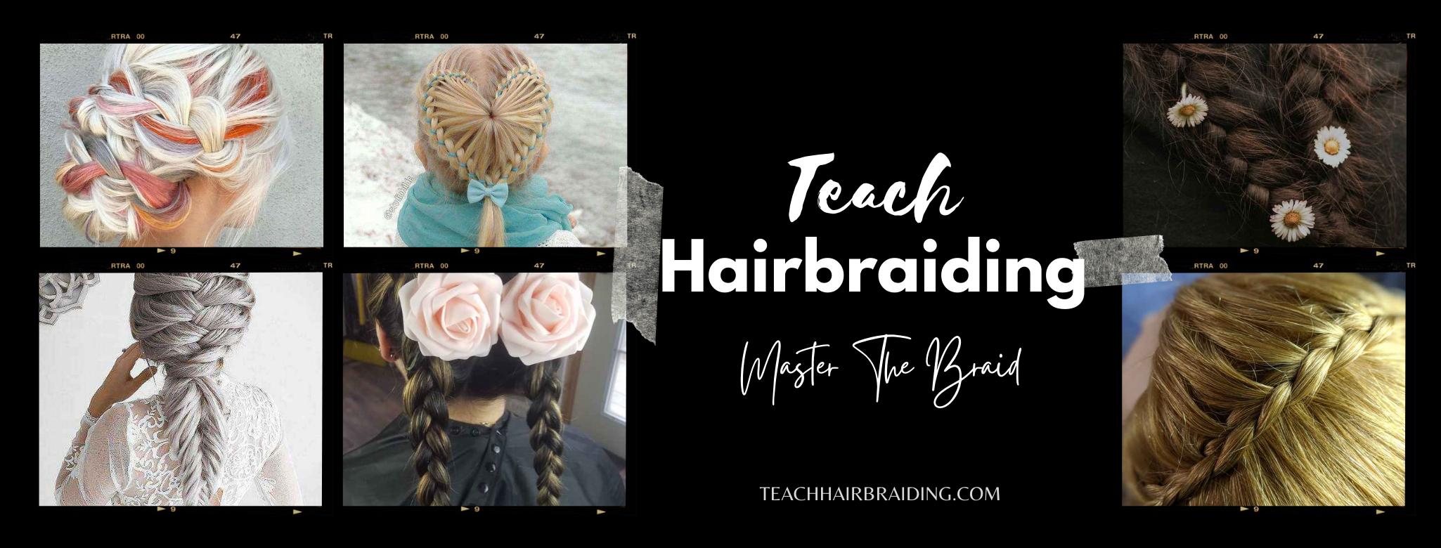 Teach Hairbraiding Page Banners