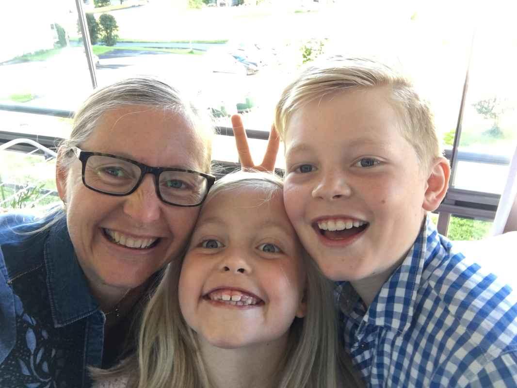 Barna og jeg Lillehammer