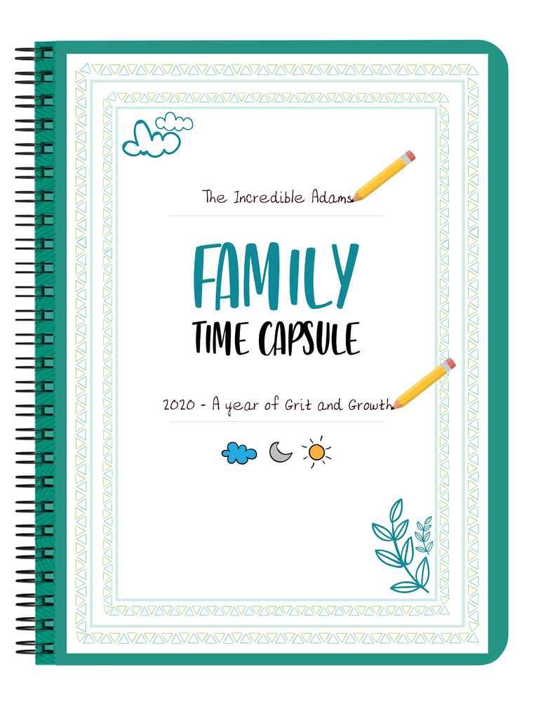 Family Time Capsule (Printable PDF)