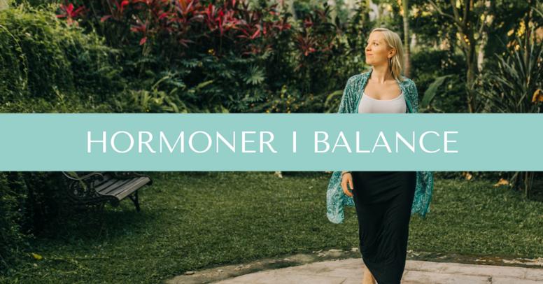 Hormoner i balance - januar 2022